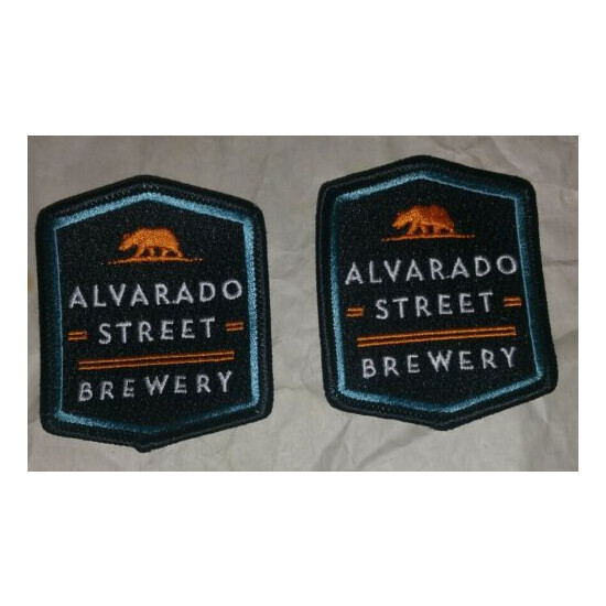 Alvarado Street Brewery Bottle Label Patch ~NEW! Craft Beer Brewing Co. ~