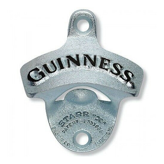 Guinness Wall Mounted Bottle Opener - Free Shipping