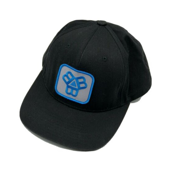 Bissell Brothers Brewing Black Snapback Patch Hat Cap Craft Beer Portland Swish