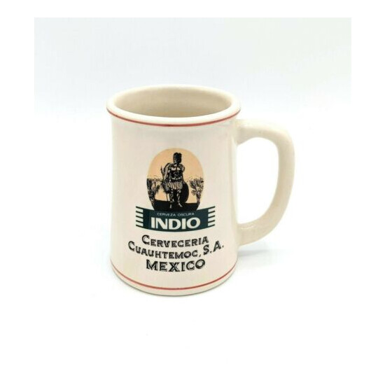 1981 Franklin Mint World's Great Breweries Tankard INDIO Mexico Beer