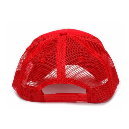 Wake and Bake Wed Pot 420 Funny Adult Truckers Unisex Cap Hat Red