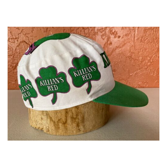 Vintage Official Beer Of St Patrick's Day Killien's Red Painters Hat
