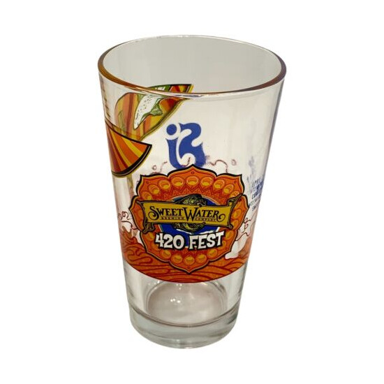 Sweetwater 420 Fest Beer Glass Atlanta Ga 2018 The String Cheese Incident