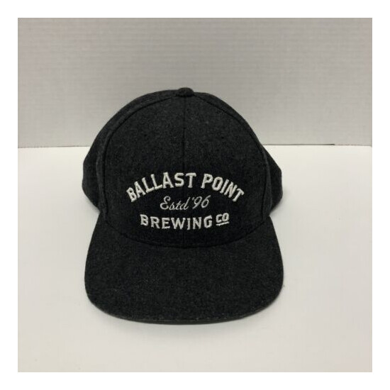 Ballast Point Brewing Co Snapback Hat San Diego Embroidered Wool