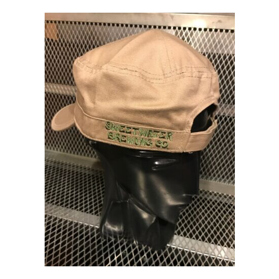 SWEETWATER BREWING GA ~ MILITARY Style Strap Back ~ Beer HAT Cap G13 Strain WEED