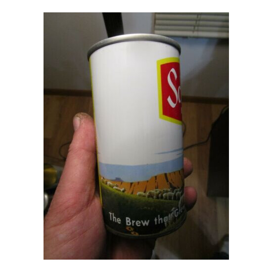 Clean Schmidt Yellow Stripe Scene Collie Cont Can Co 12 Oz Beer Can