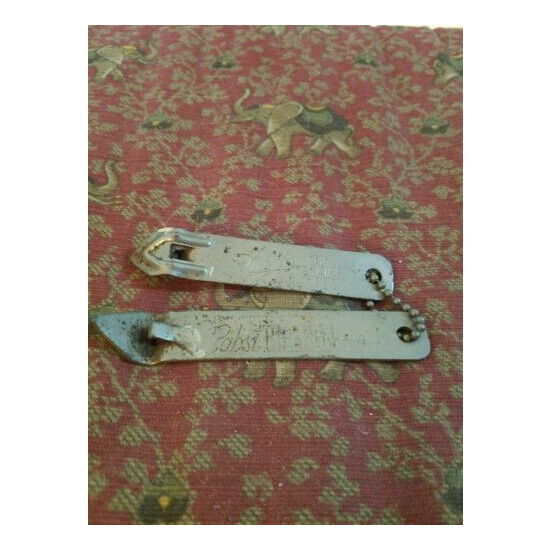 Lot of 2 vintage beer can openers - Pabst, Miller High Life