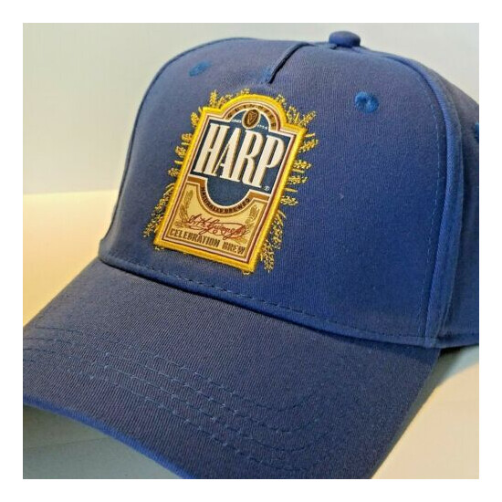 Harp Lager 1759 Cap Blue Baseball Style One Size Fit Most Genuine