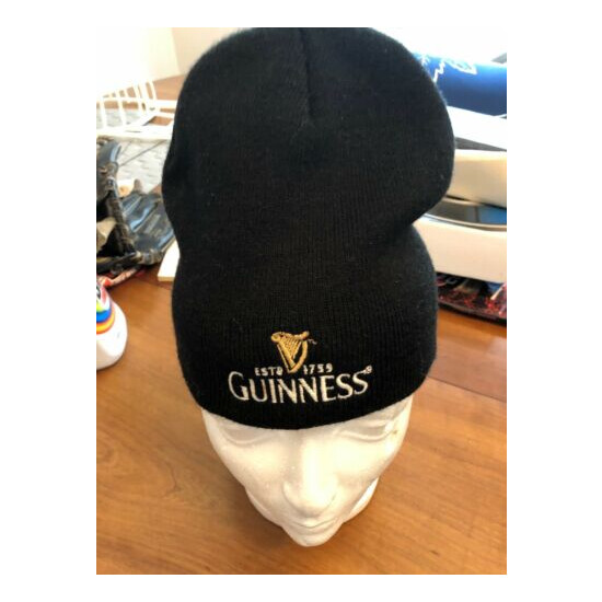 HAT CAP Toque Guiness Beer One Size Fits Most