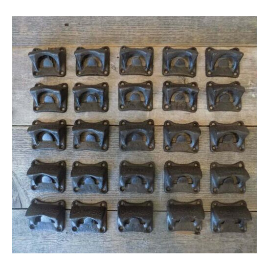 25 Cast Iron Open Here Wall Mounted Bottle Openers Rustic BOX BLOCK STYLE Bar