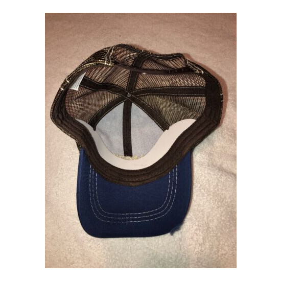 Angry Orchard Hard Cider Distressed Trucker Hat with Free Shipping