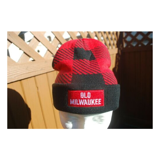 OLD MILWAUKEE BEER BEANIE NEW ONE SIZE