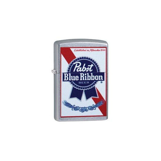 Hard to Find Pabst Blue Ribbon Beer Zippo Lighter
