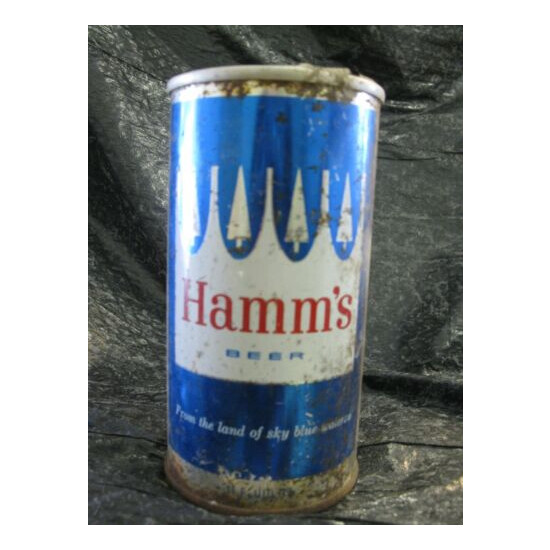 Antique Hamm's Beer Can