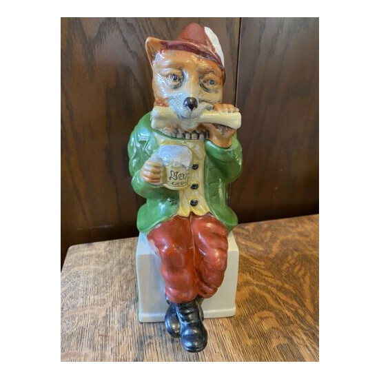 1991 Anheuser-Busch Bevo Fox Stein - Numbered - Made in Germany by Thewalt