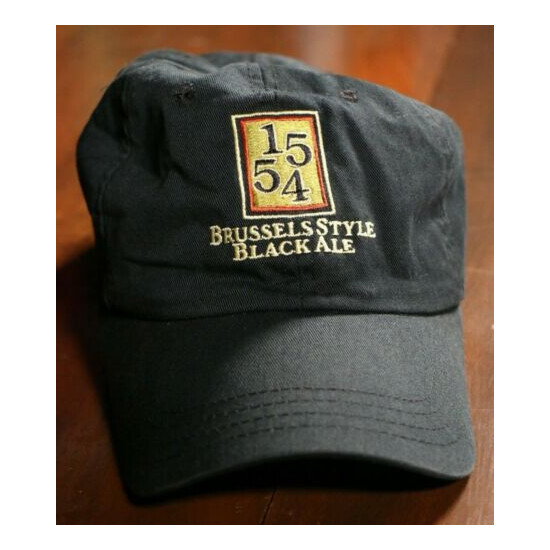 Fat Tire 1554 Brussels Style Black All Beer Hat Cap New Belgium Brewing