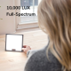 Lumine Light Therapy Lamp | 10,000 LUX Ultra Bright LED 2019 Model, UV Free